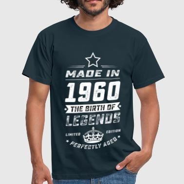MADE IN 1960 WHITE - Männer T-Shirt