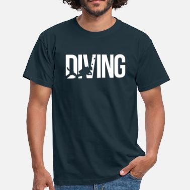 Duik diving duiken - Mannen T-shirt