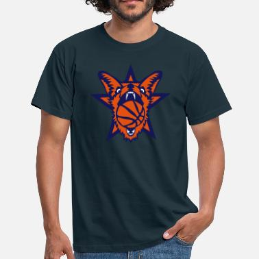 Basket Animaux basket renard ruse fox basketball animal - T-shirt Homme