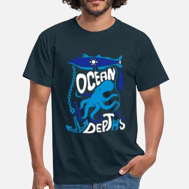 Squale 20000 Leagues Under the Sea - Men's T-Shirt