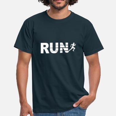 Marathonien Run, course à pied - T-shirt Homme
