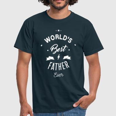 World's best father ever - Herre-T-shirt