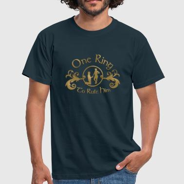 one ring - Men's T-Shirt