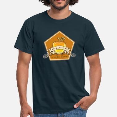Vanity A golden apple to the most beautiful - Mannen T-shirt