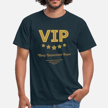 VIP - Very Important Papa - Gold Edition - Männer T-Shirt