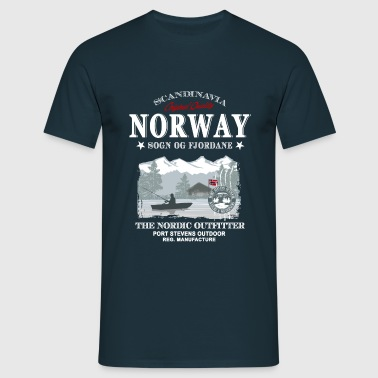 Norway Fishing - Männer T-Shirt