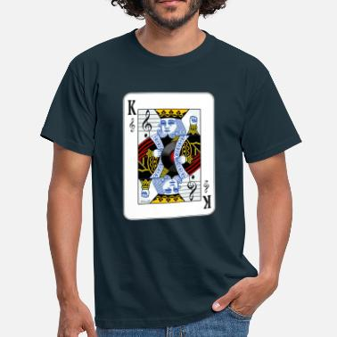 KING OF MUSIC - Men's T-Shirt