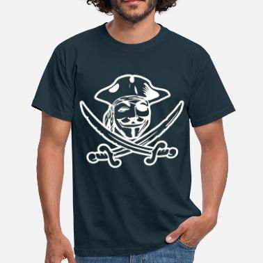 Guy Fawkes ANONYMOUS - Männer T-Shirt