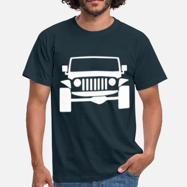 Jeep Wrangler jeep - Men's T-Shirt