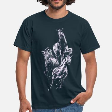 Gallop Galloping Horses - Men's T-Shirt