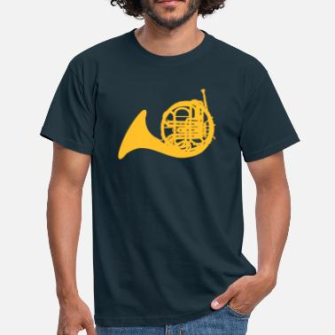 French Horn French Horn - Men's T-Shirt