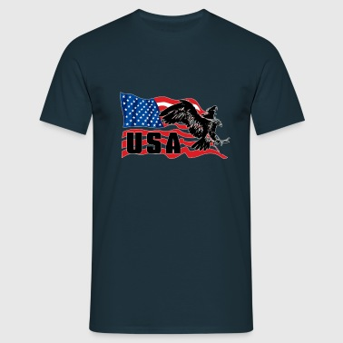 USA Eagle - T-shirt Homme
