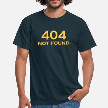 404 Not Found 404 NOT FOUND - T-shirt Homme