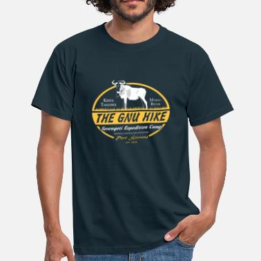 Kenia The Gnu Hike - Männer T-Shirt