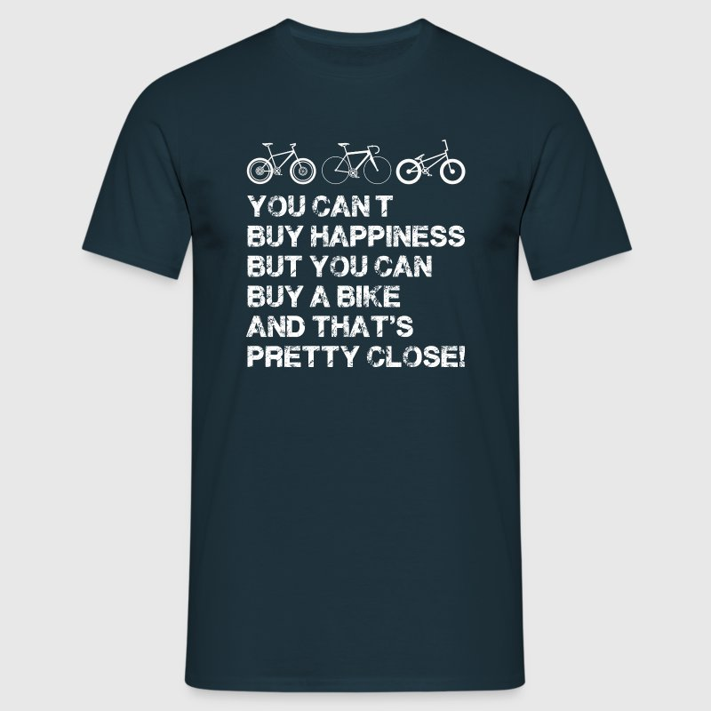 Happiness is a bike - Men's T-Shirt