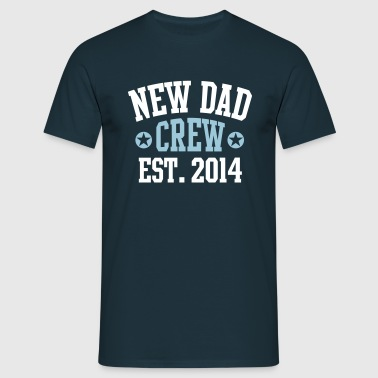 NEW DAD CREW Established 2014 2C - Männer T-Shirt