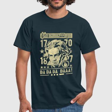 Beethoven, Sepia - T-shirt Homme