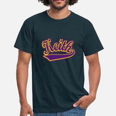 Keith Keith - T-shirt Personalised with your name - Men's T-Shirt
