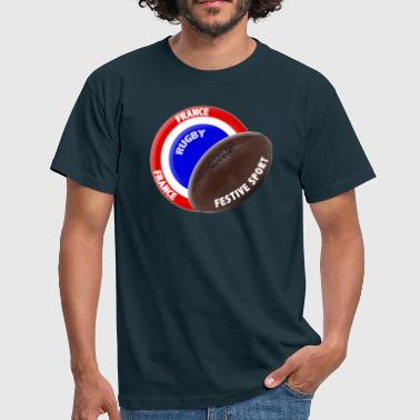 rugby festif - T-shirt Homme