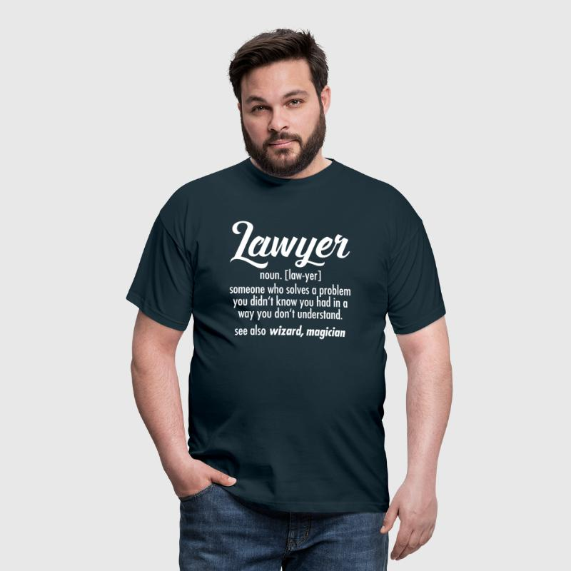 Lawyer - Definition - T-shirt herr