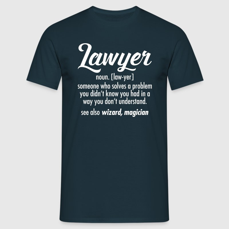 Lawyer - Definition - Herre-T-shirt