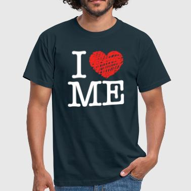 I love me (dark) - Männer T-Shirt