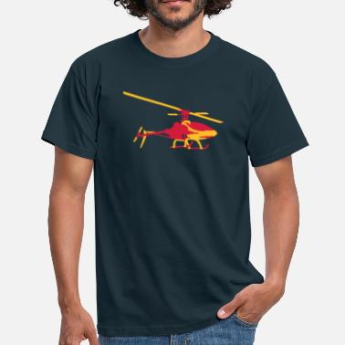 Helicopter helicopter model - Men's T-Shirt