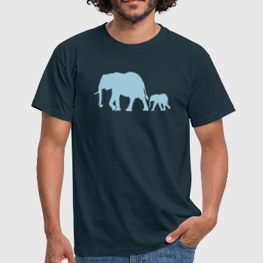 Elephant elephants - Men's T-Shirt