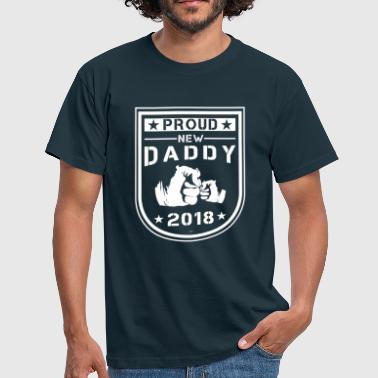 Dad Proud new Dad - Men's T-Shirt