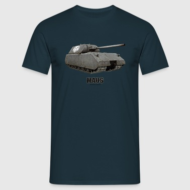 World of Tanks Maus Men Sweater - T-shirt herr