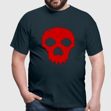 Destroyed Skull - Männer T-Shirt