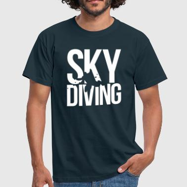 skydiving - Mannen T-shirt