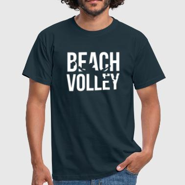beach volley - Men's T-Shirt
