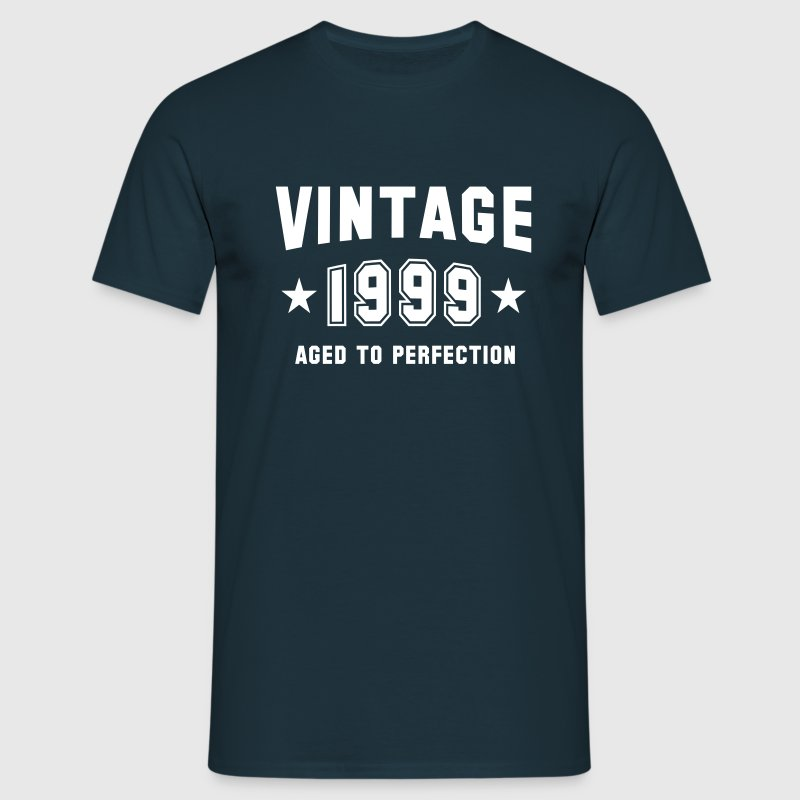 VINTAGE 1999 - Birthday - Aged To Perfection - Men's T-Shirt