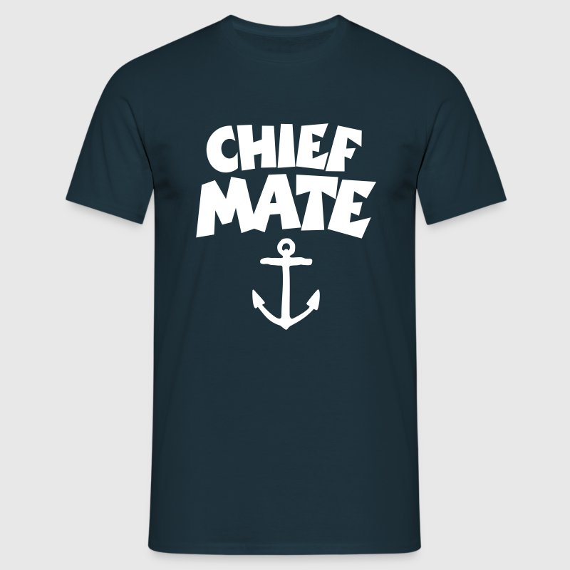 Chief Mate Anchor - Men's T-Shirt