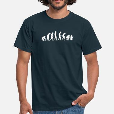 Geek Nerd evolution - Men's T-Shirt