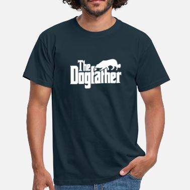 Collie The Dogfather: Border Collie (Hell) - Männer T-Shirt