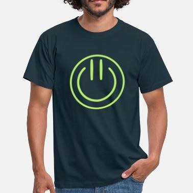 Wortart Smiley on / off - T-shirt Homme