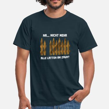 Renner Funny sayings gardener allotments allotments - Men's T-Shirt