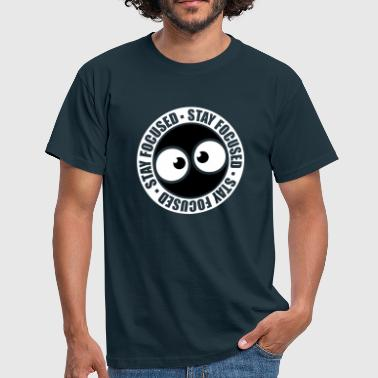 timbre cercle rond - T-shirt Homme