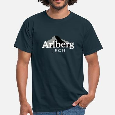 Lech Lech am Arlberg - Men's T-Shirt