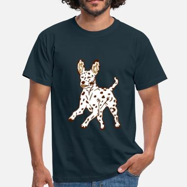 Dalmatian Dog Puppy - Männer T-Shirt