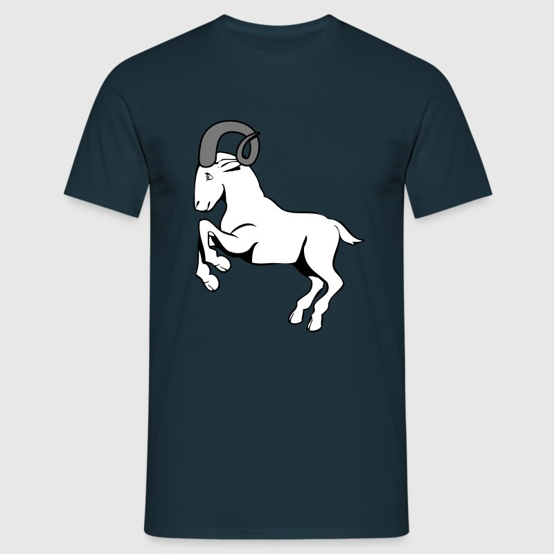 Animal de Aries del Zodíaco signo horoscopo - Camiseta hombre
