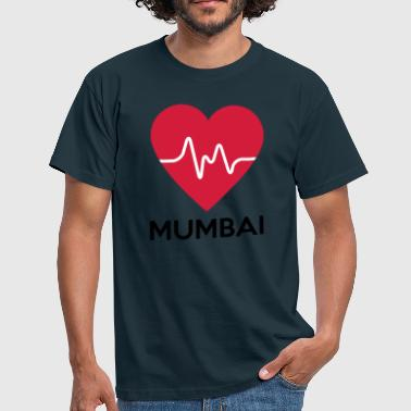 heart Mumbai - Men's T-Shirt