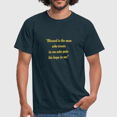 phrases of the bible - Men's T-Shirt