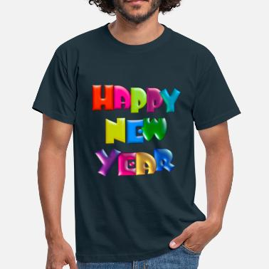 Happy Happy New Year - Men's T-Shirt
