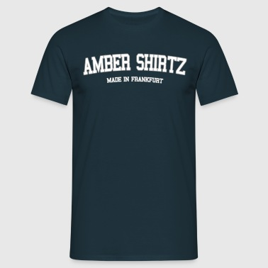 Amber Shirtz - Made in Frankfurt - Männer T-Shirt