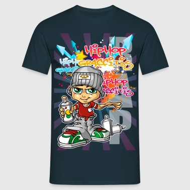 Graffiti boy - Men's T-Shirt