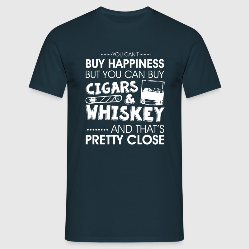 Cigars & whiskey  - Men's T-Shirt