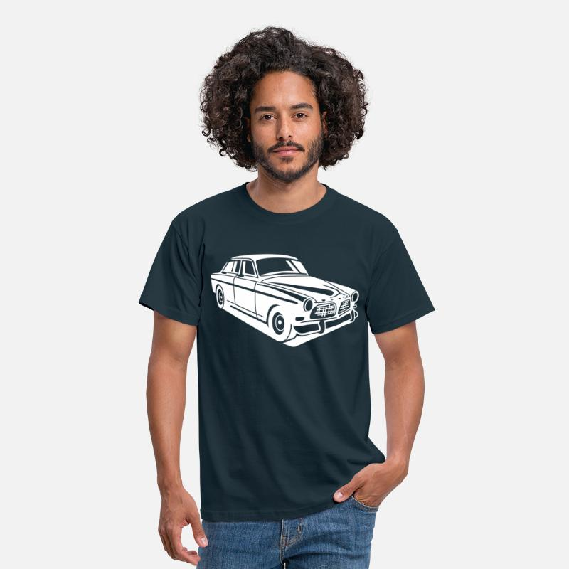 Volvo  T-Shirts - Volvo Amazon Volvoamazon - Men's T-Shirt navy